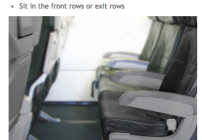 "Business travelers may want to consider Frontier's ""Stretch seats"" which offer more legroom (Image: Frontier Airlines)"