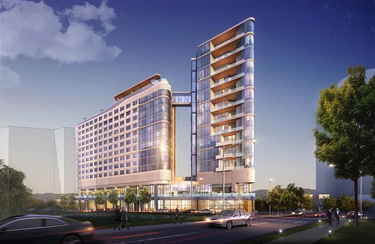 A brand new Virgin hotel planned for hot-n-happnin-now Nashville (Rendering: Virgin Hotels)