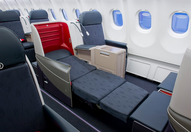 Turkish Airlines lie-flat business class seat (Photo: Turkish Airlines)