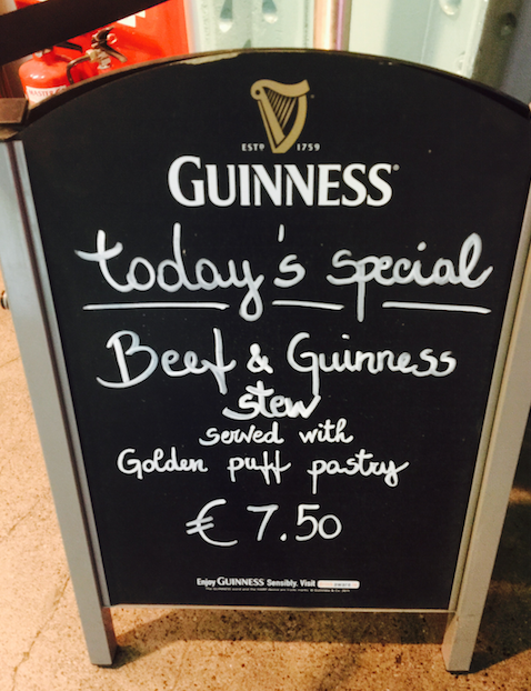 You'll not only find Guinness in glasses at the Storehouse. It's in the food, too. (Chris McGinnis)
