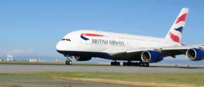 TravelSkills was out on the runways at SFO to watch the first British Airways A380 touch down (Chris McGinnis)