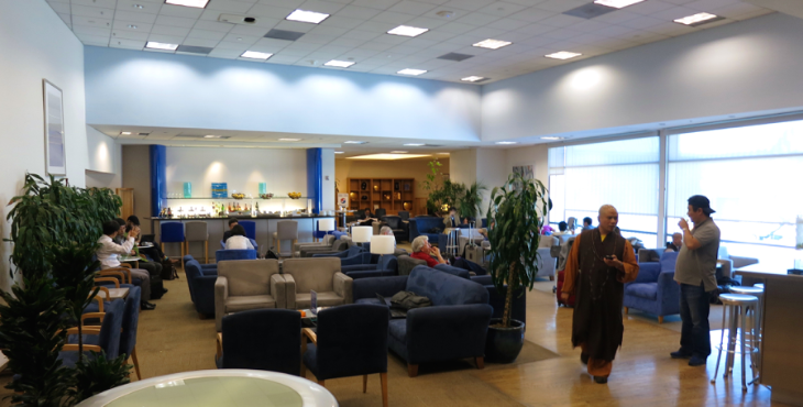 British Airways intends to squeeze in another floor at its SFO lounge (Chris McGinnis)