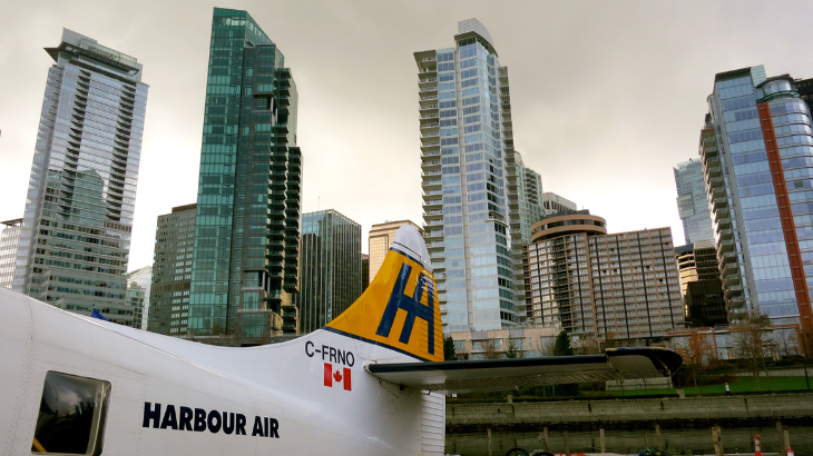 Float planes next to skyscrapers in Vancouver make me smile (Chris McGinnis)
