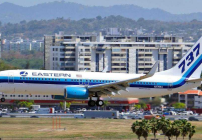 Eastern Airlines B737 touching down in San Juan (Eastern Airlines / Twitter)