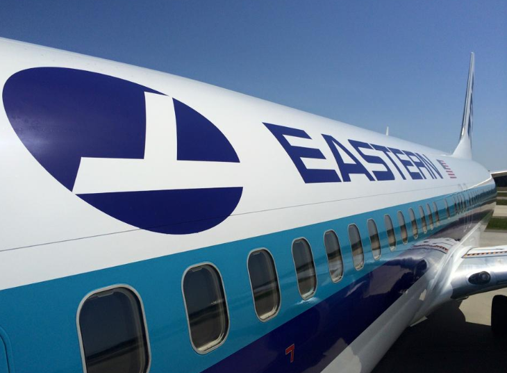 Eastern Airlines's only plane: A Boeing 737 purchased from Kenya Airways (Photo: Shelly Gerrish)