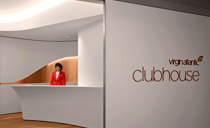 The reception area for Virgin Atlantic's new LAX Clubhouse (Image: Virgin Atlantic)