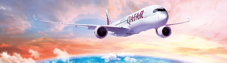 Qatar Airways plans to bring the new Airbus A350 XWB to Boston and New York. (Image: Qatar Airways)