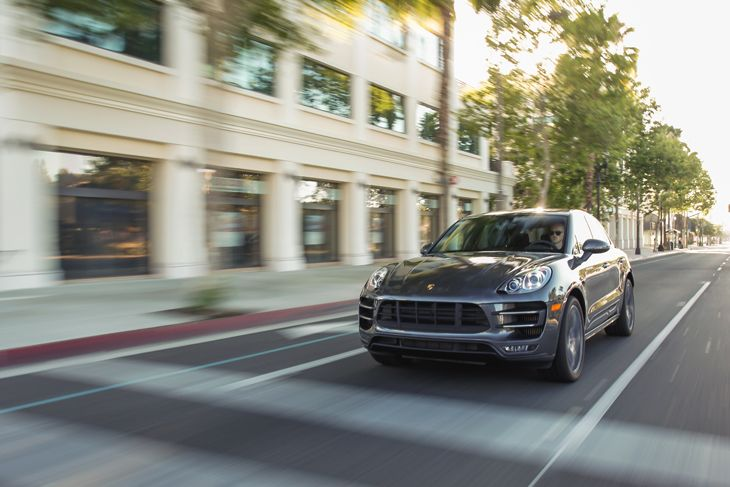 The 2015 Porsche Macan Turbo joins Hertz's Dream Car Collection (Image: Porsche)