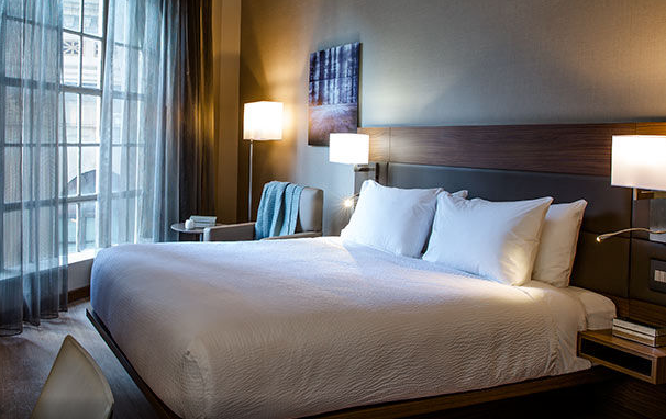 A room at the new AC Hotel Washington DC at National Harbor (Image: Marriott)