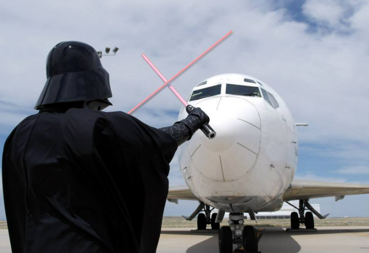 Darth block! Photo: Denver International Airport