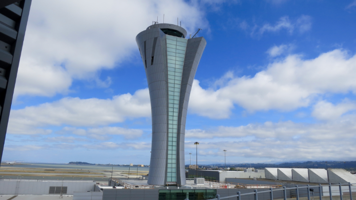 SFO's new 221-foot air traffic control tower will open next summer (Photo: Chris McGinnis)