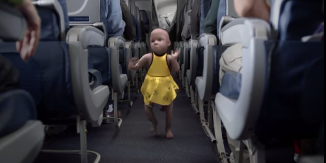 The famous dancing baby