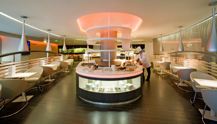 SkyTeam lounge at London Heathrow Terminal 4 (Photo: SkyTeam)