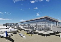 Rendering of United's new Terminal C North at Houston Bush Intercontinental. (Image: United)