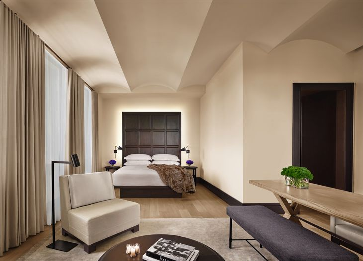 Guest room at Marriott's New York EDITION. (Image: Marriott)