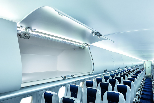 The most valuable space on the plane? (Image: SuperJet Interiors)