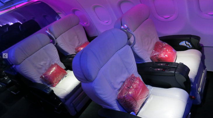 I thought that first class seat was mine until it was snatched away by a FAM (Chris McGinnis)