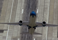 Have you ever seen a passenger jet take off almost vertically? Wow (Image: Boeing)