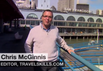 Chris McGinnis offers San Francisco tips on CNN (Image: CNN)