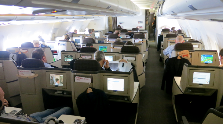 Note the unusual staggered seat configuration & single seat along the windows (Chris McGinnis)