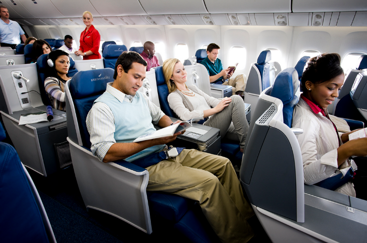 More spacious rides like this coming to Delta transcon service (Image: Delta)