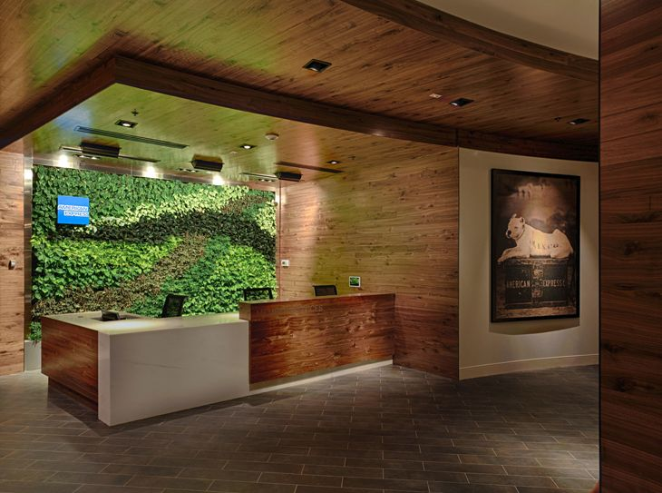 Entrance to the Centurion Lounge. (Image: American Express)