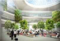 Rendering of proposed new atrium at Atlanta Hartsfield-Jackson. (Image: City of Atlanta)