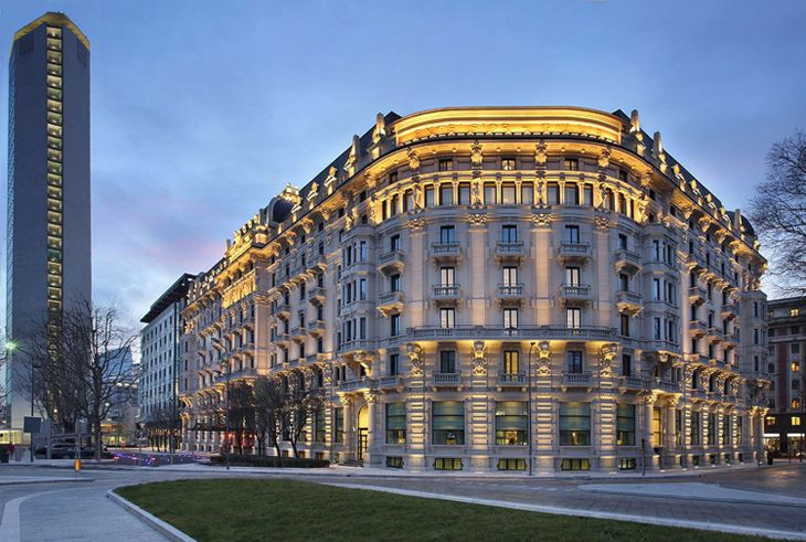 The historic Palace Gallia Hotel in Milan is now part of Starwood's Luxury Collection. (Image: Starwood)