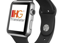 A translation app works with the Apple Watch. (Image: InterContinental Hotels Group)