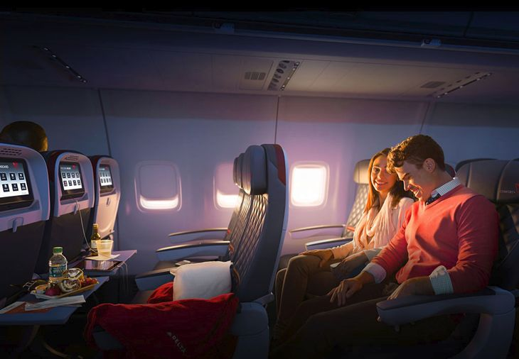 A survey finds consumers in their 20s and 30s are much more willing to pay for membership in loyalty programs. (Image: Delta)