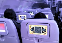 Pac-Man and other games will be featured on Virgin America's enhanced entertainment system. (Image: Virgin America)