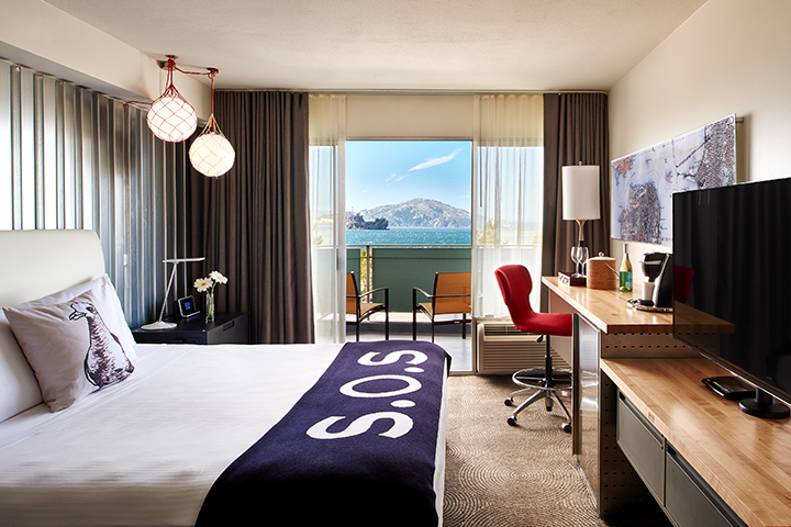 A room at San Francisco's new Hotel Zephyr runs $999 per night during Super Bowl (Photo: Hotel Zephyr)