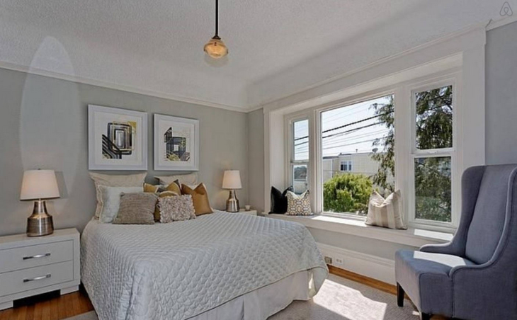 This modern two BR Victorian in San Francisco's Noe Valley is $300/nt (Image: Airbnb)