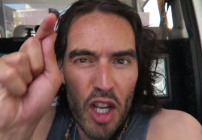 Comedian Russel Brand takes on Uber is a recent video tirade (Image: YouTube)
