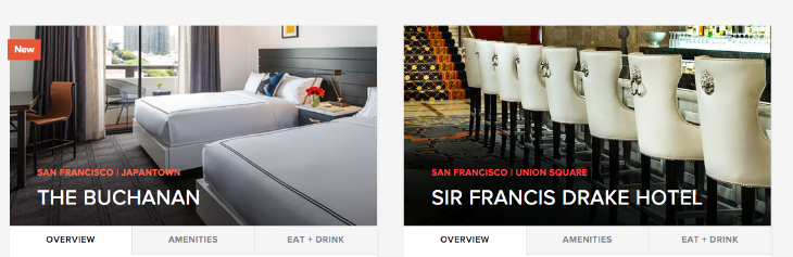 These are the only two Kimpton hotel left in San Francisco (Kimpton website)