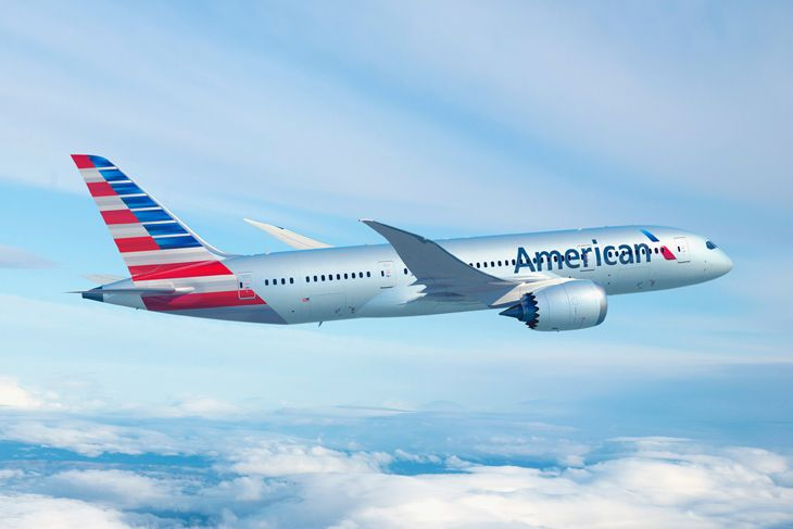 American is bringing new 787s to two LAX routes this fall. (Image: American)