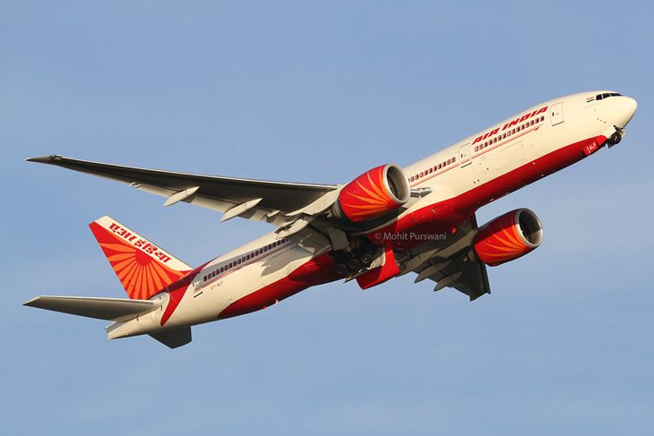 Air India plans to start 777-200 flights to San Francisco. (Image: Mohit Purswani/Flickr)