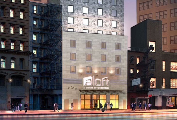 Starwood is opening a new Aloft in Manhattan's Financial District. (Image: Aloft Hotels)