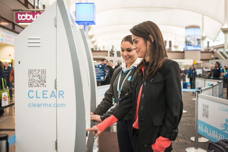 The CLEAR trusted traveler program is expanding to four more airports.  (Image: CLEAR)
