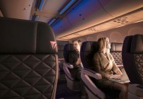 Delta says it is selling more first class seats these days. (Image: Delta)