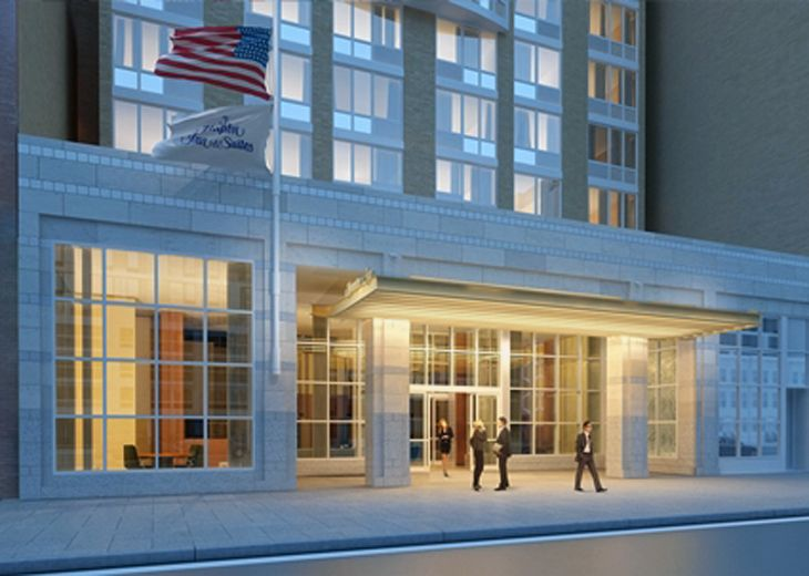 Hilton;s new Hampton Inn Manhattan/Times Square Central. (Image: Hilton)