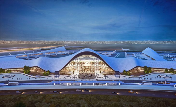 LaGuardia's new Central Terminal design. (Image: Global Gateway Alliance)