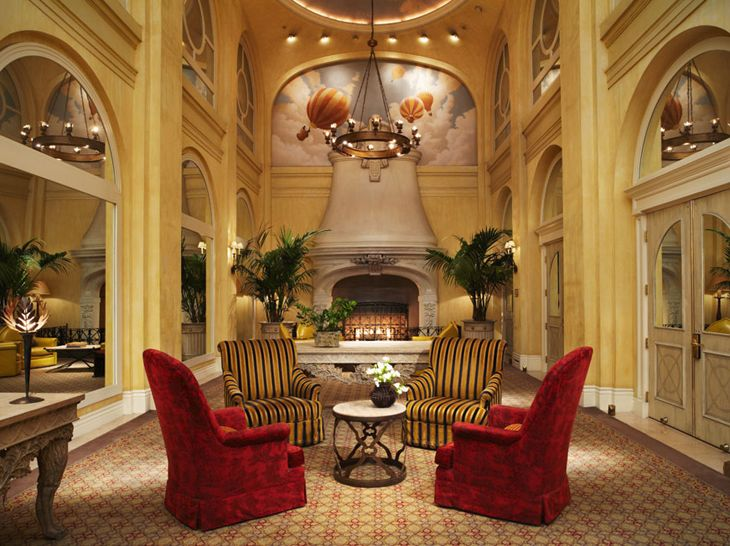 Lobby of San Francisco's Hotel Marker, formerly the Monaco. (Image: Hotel Marker)