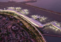 The new LaGuardia will replace separate terminals with a unified structure. (Image: New York Governor's Office)