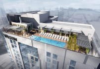 The Westin Austin Downtown has a rooftop pool. (Image: Westin)