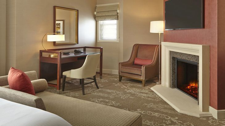 Guest room at the new Westin San Jose, formerly the Sainte Claire. (Image: Westin)