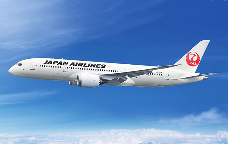 Japan Airlines will use a 787-8 on its new Dallas/Ft. Worth-Tokyo route. (Image: Japan Airlines)