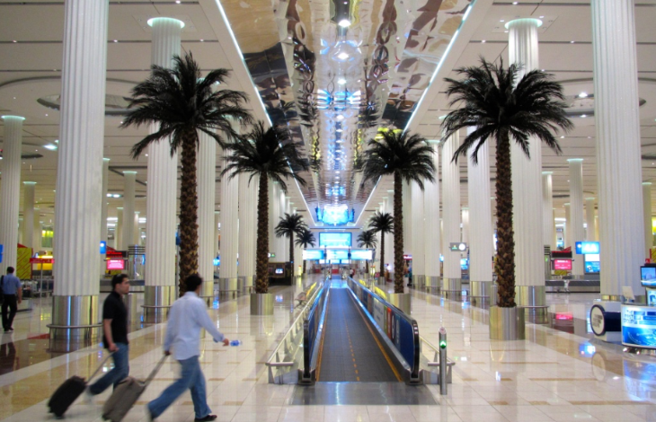 Dubai airport has the most international passengers, but.... (Photo: Chris McGinnis)