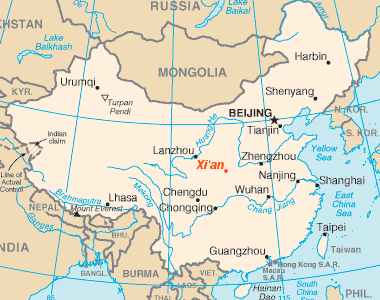 Xi'an_location
