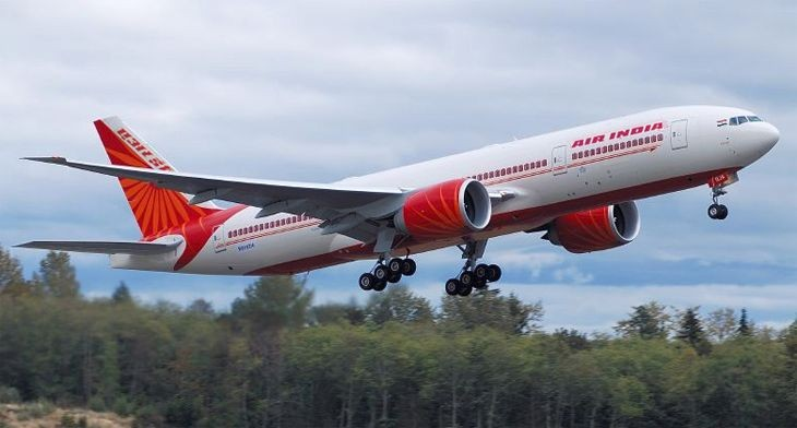Air India 777-200LR. (Image: Wikimedia Commons)
